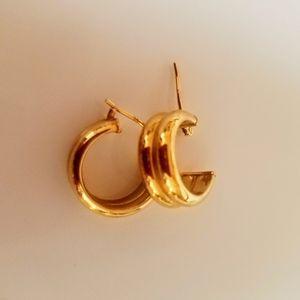 14Kt Gold Hoop Earrings